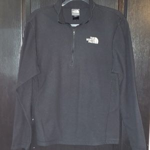 North Face black pullover fleece size Small